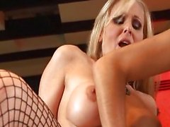 Threesome with hot MILF Raylene and Julia Ann