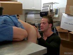 Secret Public Confessional Fucking..With Random Uncut Muscle Guy!