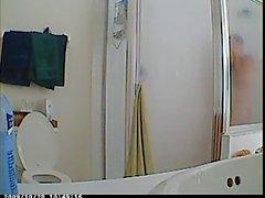 Nascosta con doccia spia Cam