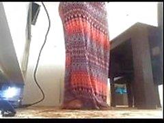 Indiani - di Desi punjabi della casalinga grassottello da New Delhi masturbazione cam in diretta