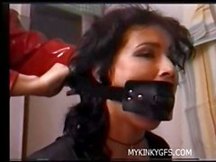 Slave Amateur Lady and bdsm slut