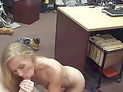 College blonde blowjob threesome and blowjob handjob finish