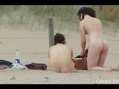 Horny Curvy Nudist Milfs Hairy Pussy Beach Voyeur HD Video
