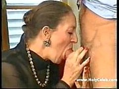 Francese-Tedesco Granny Anally Fisted