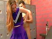 Cheerleader Con Stranezze fica dei capelli scopare