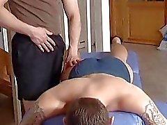Onun masaj terapistleri cock Ahbap