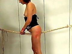 Per gran corda di BDSM calde di sesso remissivo
