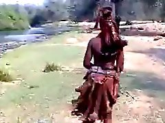 Dell'Africa ragazza sexy