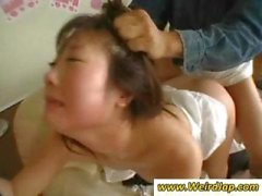 Estremo Sesso con domestiche asian scopate