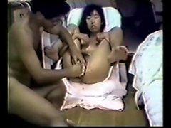 Giappone di Kimiko doppio fica a pugno e di accarezzato