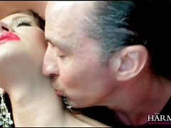 Petite brunette girlmakes an anal booty call