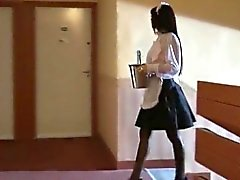 wife and the maid fucked at home