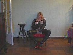 Diana Shemale Masturbieren 1.