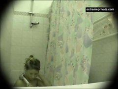 Meine schöne Schwester 19 gefangen auf Spionage cam
