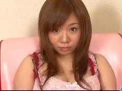 ancella sweet , Aoi Mizumori , gradito di due cocks gustose