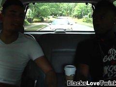 Negro hunk bangs twink