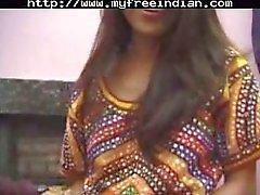 Gemeinsame Indian Schmutziges Mädchen