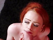 beautiful redhead facial 46