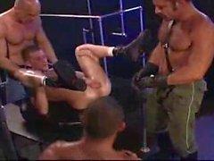 Muskel Männer Faust Orgie ein hottie