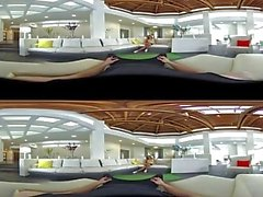 VR Stereoscopic 360 - Cristiana Cinn Sucks And Fucks Her Instructor