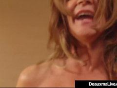 Горячие Зрелые Cougar Диаксма получает пробурена большой черный петух!
