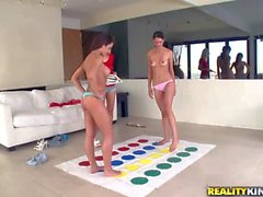 Sammie Rhodes Capri Cavali Tiffany Thompson Playing Lesbian twister