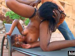 ebony hottie knows what a guy wants movie