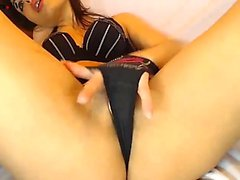 Solo babe pussy toys to orgasm