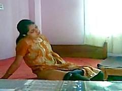 Smart indischer Heißer des Mädchens Masturbation