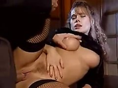 Insatiable Italian beauties satisfying their desire for hardcore sex