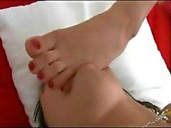 Lesben Fuß SLAVE bymn
