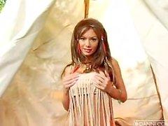 Crissy Moran HD Virtual Lap Dance Strip Show Fully Nude