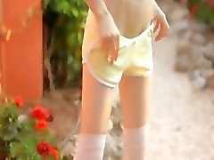 Petite dunne pop strippen