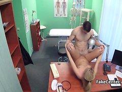 Mature nurse got fresh long cock