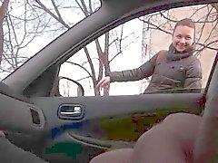 openbare flitser in de auto