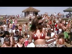 Beach Party Home Video from Spring Break South Padre 1