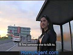 HornyAgent Aficionado asiáticas do sexo anais fora da no carro
