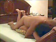 Coppia araba presso il Hotel - cam nascosta