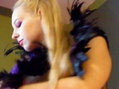 COSPLAY FAERIE TAKES MESSY CUMSHOT IN HER MOUTH - Whore'r Stories