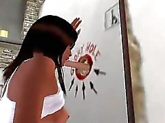 Girl in glory hole gefickt