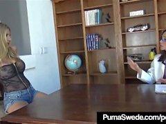 Nymphomaniac Puma Swede von Hypno Doc Arielle Ferrera missbraucht!