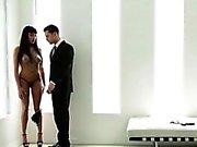 Lovely Asian bondaged
