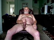 Uomo anziano Wanking