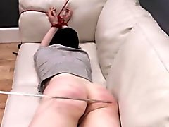 дьявольская хардкор BDSM веревку секс с анальное действие