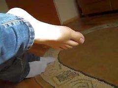 schläfrig Füße kitzeln 6