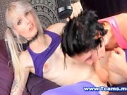 Sexy Hot Tgirls In A Hot Oral Sex