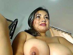 Menina muito bonito Asiático Masturbação Webcam para mais visita