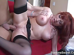 BRITTANY OCONNELL menacing-threatening Redhead mother I'd like to fuck Nailed Roughly And Got Facial Cum two