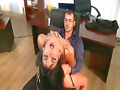 These secretaries are getting banged by their bosses in this clip