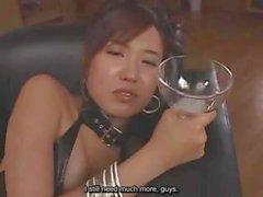 Wunderschöne Gokkun Spermaspiele Drinker